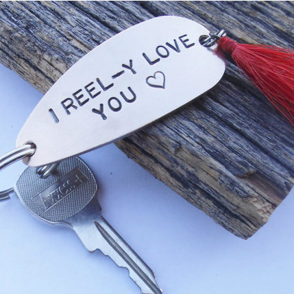 I REEL-Y Love You Keychain