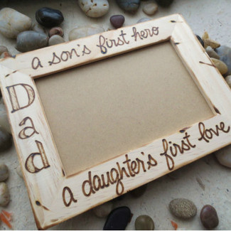 Dad Picture Frame from the kids