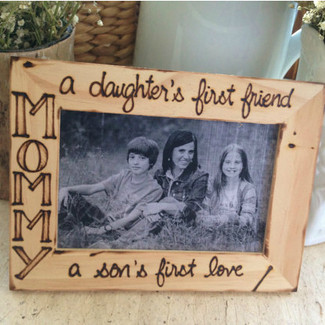 Mom Picture Frame from the kids