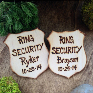 Ring Bearer Security Badge