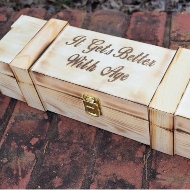 Rustic Wedding Wine Capsule