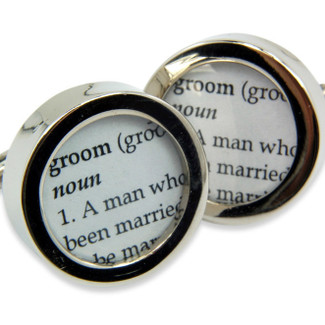 Custom Word Cufflinks