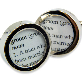 Definition of Groom Cufflinks