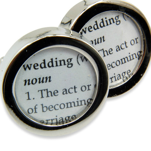Definition of Wedding Cufflinks