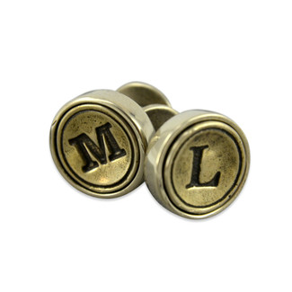 Personalized Initial Letter Cufflinks