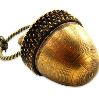 Acorn Canister Locket