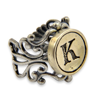 Victorian Initial Ring