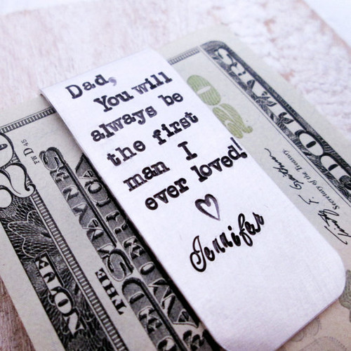 Money Clip for Father of the Bride