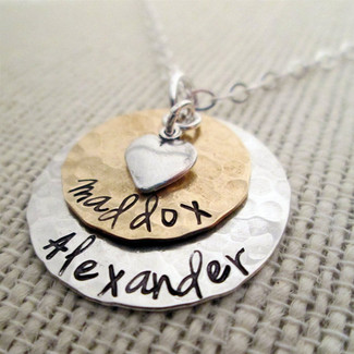 Layered Love Mom Necklace