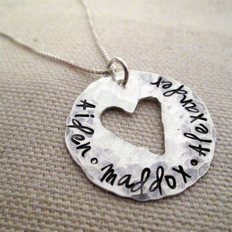 Whole Hearted - Mothers Necklace