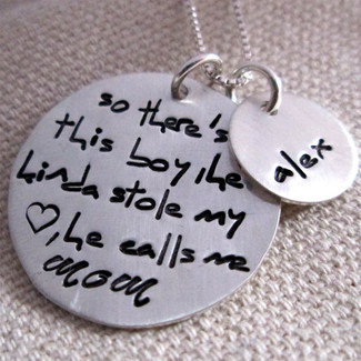 So there's this boy who kinda stole my heart... Mother's Necklace