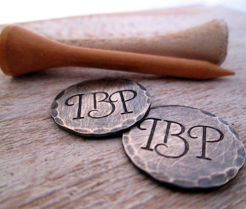 Personalized Golf Ball Markers - Set of 2