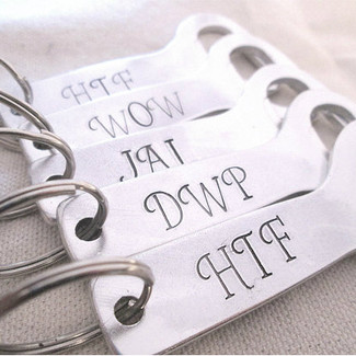 Personalized Groomsmen Bottle Openers - Set of 5