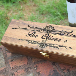 Wedding Wine Ceremony Box