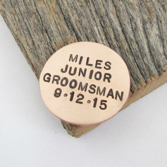 Junior Groomsman Ball Marker