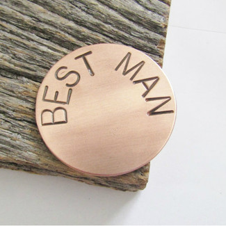 Best Man Golf Ball Marker