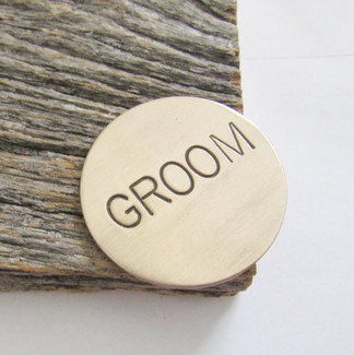 Groom Golf Ball Marker