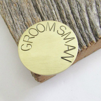 Groomsman Golf Ball Marker