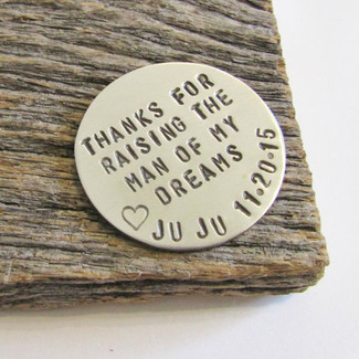 Thank You For Raising The Man Of My Dreams - Golf Ball Marker