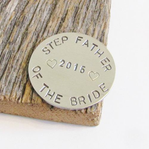Step Father of the Bride Golf Ball Marker
