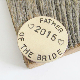 Father of the Bride Golf Ball Marker Gift