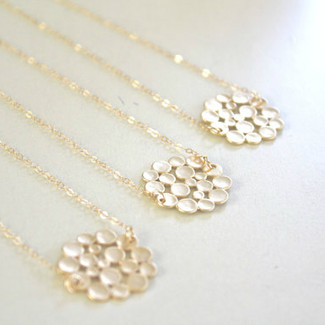 Gold Bridesmaid Necklaces