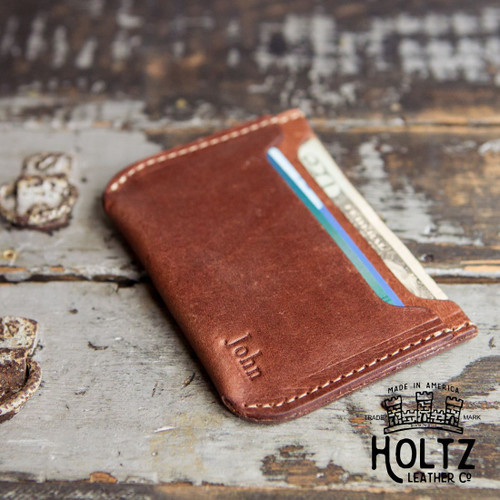 Bradford Front Pocket Double Sleeve Fine Leather Wallet