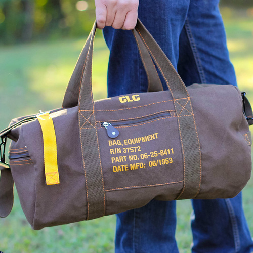 Personalized Groomsmen Vintage Military Equipment Duffle Bag