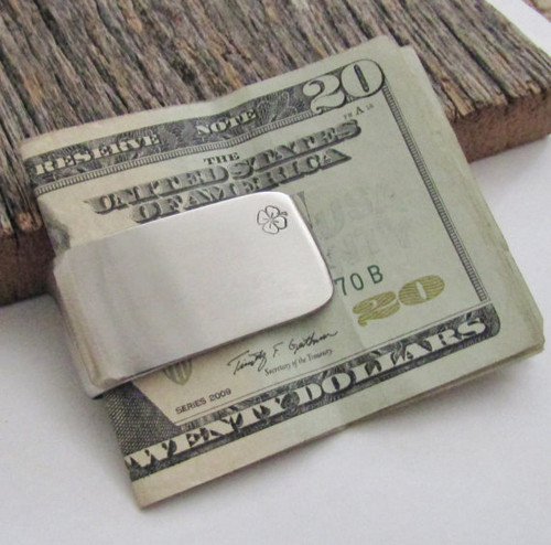 Irish Clover Money Clip