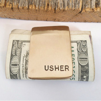 Usher Money Clip