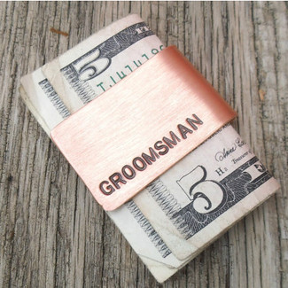 Groomsman Gift Money Clip