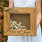 Personalized Wine Cork Shadow Box
