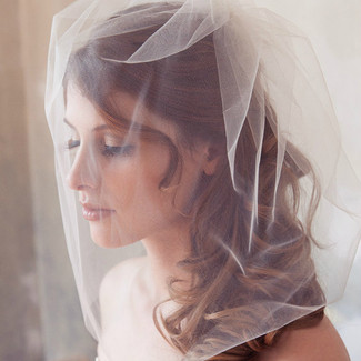 Tulle Bridal Illusion Veil