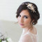 Rose Gold Crystal Bridal Headpiece