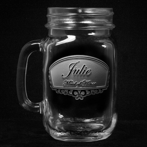 Bridesmaid Mason Jar