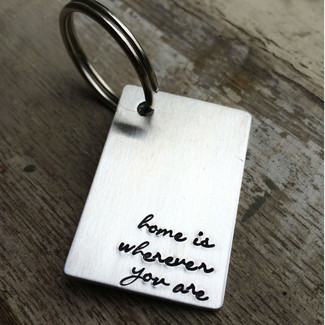 Home Is Wherever You Are Keychain