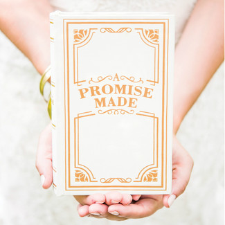 Vintage Jewelry Book Box - A Promise Made