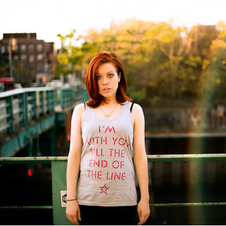 I'm With You Till the End of the Line Tank Top