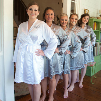 Bridal & Bridesmaid Satin Robes