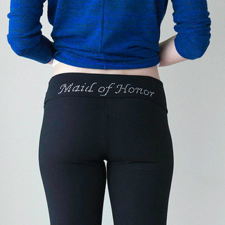 Maid of Honor Yoga Pants