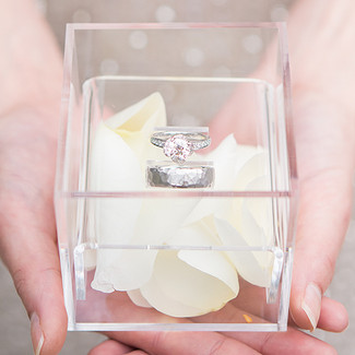 Modern Fairy Tale Wedding Ring Box