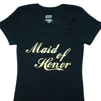 Maid of Honor Fitted T-Shirt