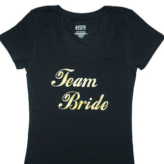 Team Bride Fitted T-Shirt
