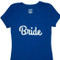 White Bride Fitted T-Shirt