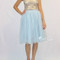 Baby Blue Tulle Skirt