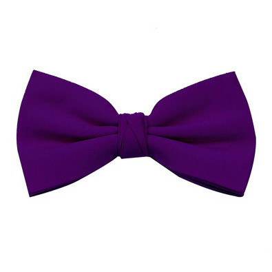 Deep Purple Bow Tie
