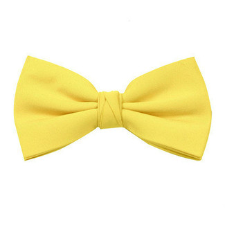 Sun Yellow Bow Tie