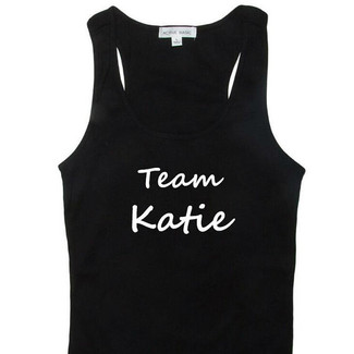 Personalized Team Bride Tank Top