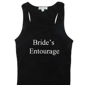 Bride's Entourage Tank Top