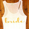 Bride with Swirl Tank Top